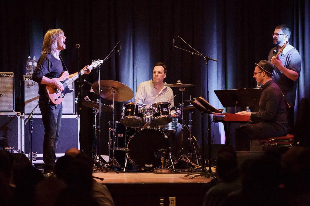 The four-night 2016 Ballard Jazz Festival finishes with the Mainstage Concert at the Nordic Heritage Museum. Mike Stern, with the George Colligan Trio, headline the concert. Mike Stern, guitar and vocals; George Colligan, keyboard; Jeremy Allen, bass; Matt Jorgensen, drums